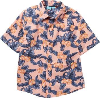 Рубашка с короткими рукавами и цветочным принтом Theo BEAR CAMP