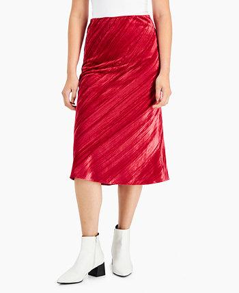 Фактурная бархатная юбка Lucy Paris