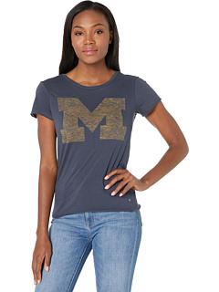 Футболка с надписью Michigan Wolverines Fader '47 College