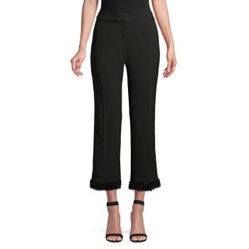 Двусторонние расклешенные брюки Manhattan до щиколотки Lafayette 148 New York