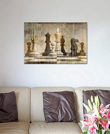 "Картина Рассела Бреннана ""Шахматы"" на холсте в упаковке ICanvas"