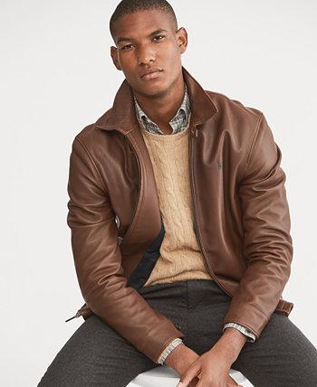Кожаная куртка мужская Ralph Lauren