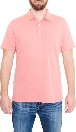 Вязаная футболка-поло с короткими рукавами Slub Toscano