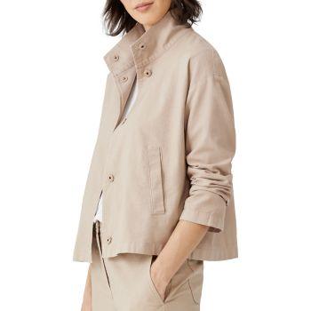 Куртка с воротником-стойкой Eileen Fisher