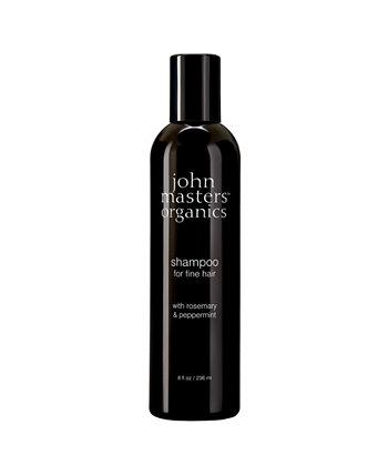 Шампунь для тонких волос с розмарином и мятой - 8 эт. унция John Masters Organics