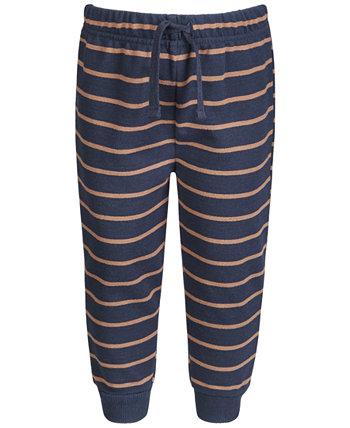 Полосатые брюки-джоггеры для маленьких мальчиков, созданные для Macy's First Impressions
