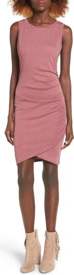 Платье-рубашка Body-Con со сборками Leith