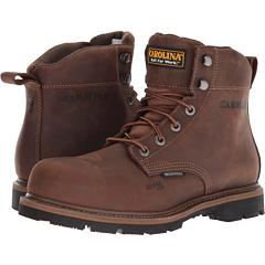 6-дюймовые водонепроницаемые рабочие ботинки со стальным носком Carolina