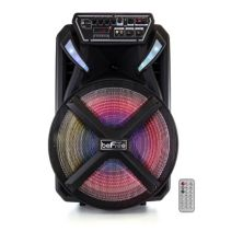 beFree Sound 15-Inch BT Portable Rechargeable Party Speaker BeFree Sound