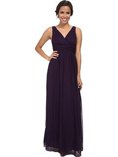 Длинное шифоновое платье с бюстгальтером Julie Donna Morgan
