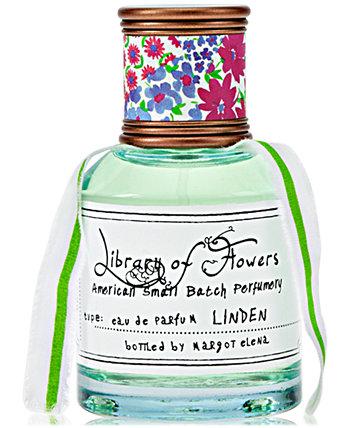 Linden Eau de Parfum, 1,69 унции. Library of Flowers