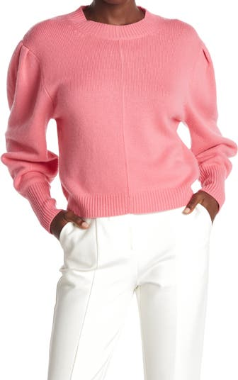 Шерстяной свитер Minnie с объемными рукавами Something Navy