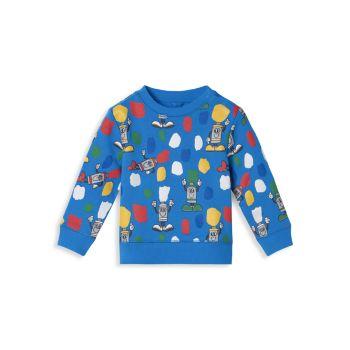 Детские & amp; Толстовка Little Boy's Paint Tubes Stella McCartney Kids