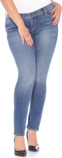 Узкие джинсы SLINK JEANS