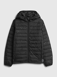 Kids 100% Recycled Polyester ColdControl Puffer Jacket Gap