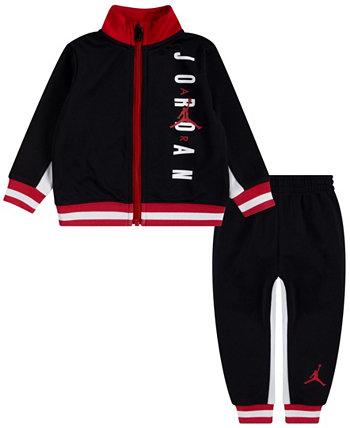 Трикотажный спортивный костюм для маленьких мальчиков, комплект из 2 предметов Jordan