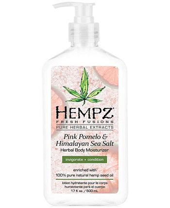 Fresh Fusions Pink Pomelo & Himalayan Sea Salt Herbal Body Moisturizer, 17 унций, от PUREBEAUTY Salon & Spa Hempz