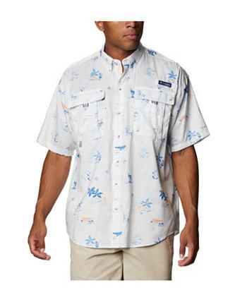 Мужская рубашка с коротким рукавом Super Bahama Big & Tall Columbia