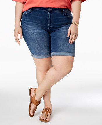 Джинсовые шорты большого размера с манжетами, созданные для Macy's Tommy Hilfiger