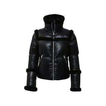 Легкая куртка Miya с высоким воротником и меховой отделкой Mackage