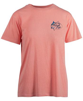 Women's Live Salty Marlin Lure Cotton T-Shirt Salt Life
