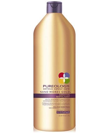 Кондиционер Nano Works Gold, 33,8 унции, от PUREBEAUTY Salon & Spa Pureology