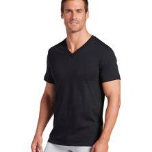 Классическая футболка с V-образным вырезом Big & Tall Jockey® - Набор из 6 Jockey