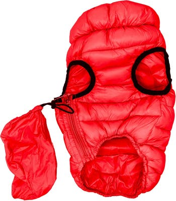 Ультра-плюшевая стеганая куртка для собак Pursuit - Medium Pet Life