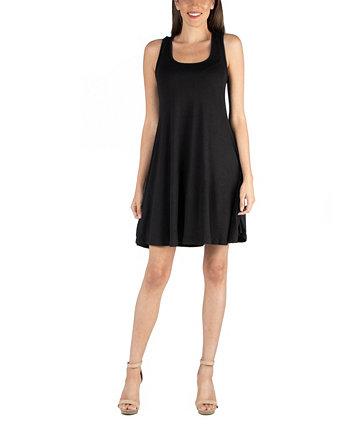 A-Line Fit и мини-платье Flare 24seven Comfort Apparel