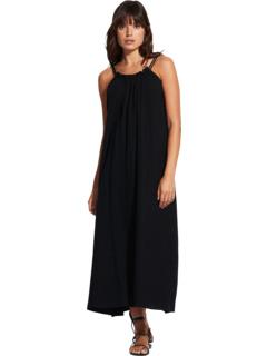 Двойное тканевое платье Beach Edit Soleil Seafolly