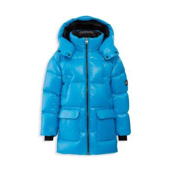 Блестящая куртка-пуховик для маленьких детей Mackage