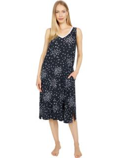 Пижамы Макси-платье из модала и спандекса Donna Karan
