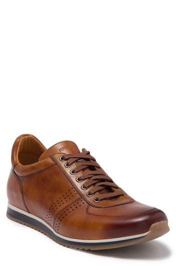 Кожаные кроссовки Cristian Cuero Magnanni