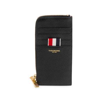 Кожаный кошелек для карточек THOM BROWNE