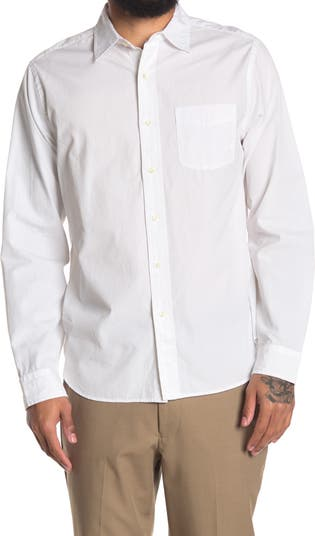 Рубашка стандартного кроя с торцом ALEX MILL