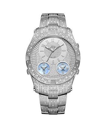 Мужские часы из нержавеющей стали Jet Setter III Diamond (1 карата) JBW