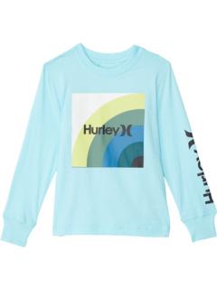 Long Sleeve Graphic T-Shirt (Big Kids) Hurley Kids