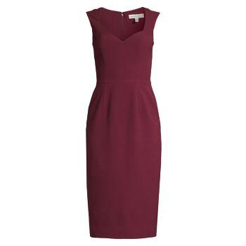 Платье-футляр Elle Dress the Population