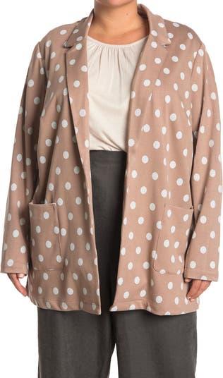 Черный вязаный пиджак в горошек Daniel Rainn