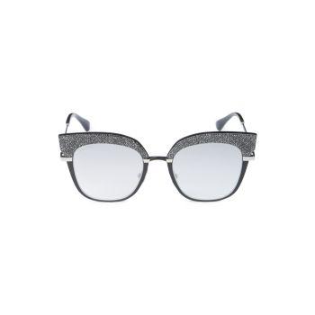 "Солнцезащитные очки ""кошачий глаз"" 51 мм Jimmy Choo"