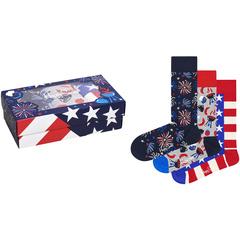 3-Pack Americana Gift Set Happy Socks