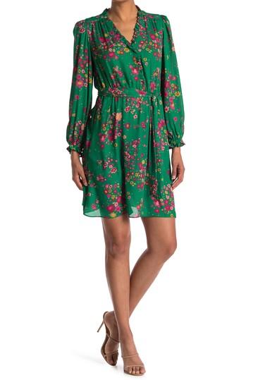 Платье с пышной юбкой и цветочным принтом Georgette London Times