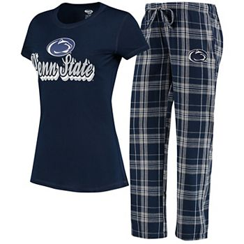 Women's Concepts Sport Navy/Gray Penn State Nittany Lions Ethos T-Shirt & Pants Sleep Set Unbranded