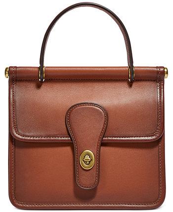 Кожаная сумка-портфель Willis Coach Originals COACH