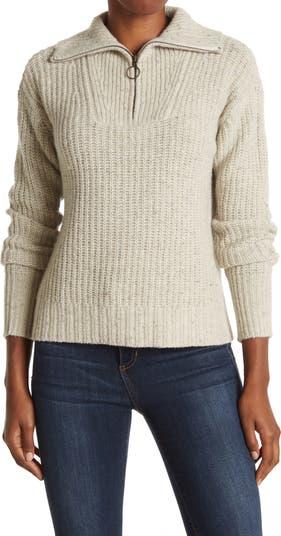 Трикотажный пуловер на молнии до четверти Sullivan FAHERTY BRAND