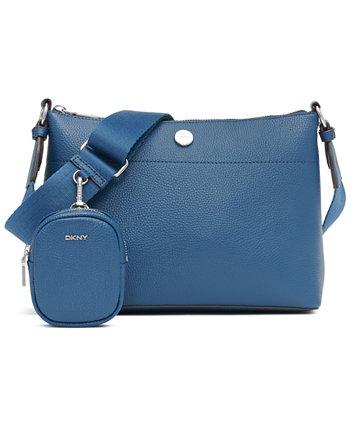 Кожаная сумка через плечо Winston DKNY
