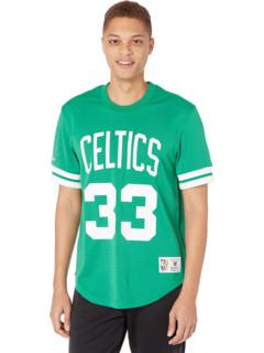 Имя и номер в НБА Top Celtics 86 Ларри Берд Mitchell & Ness