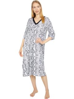 Одежда для сна Длинная рубашка из модала и спандекса Donna Karan