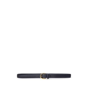 Charm Saffiano Leather Belt Ralph Lauren