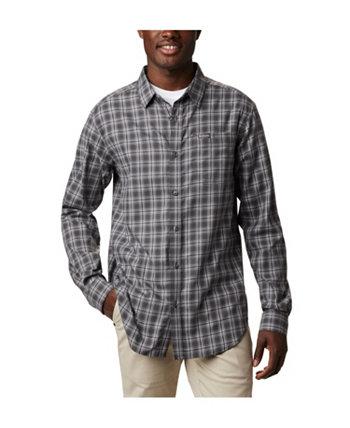 Мужская рубашка в клетку современного классического кроя Big & Tall Vapor Ridge ™ III Columbia